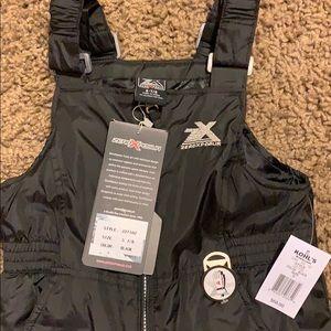 Kids ZeroXposur Black Snow Bib Size 7/8